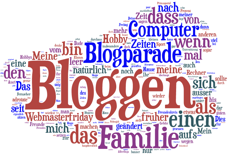 Blogparade Familie und Bloggen