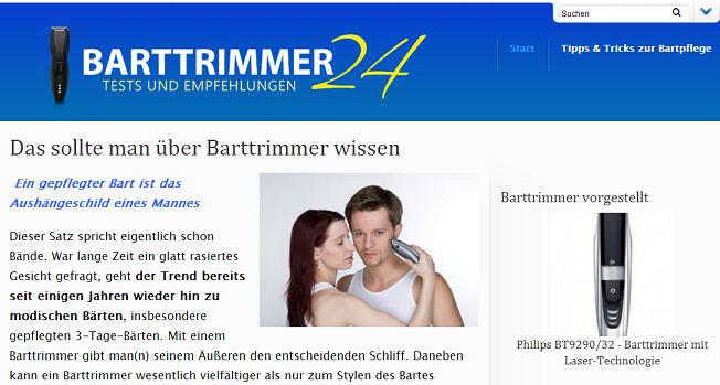 Barttrimmer